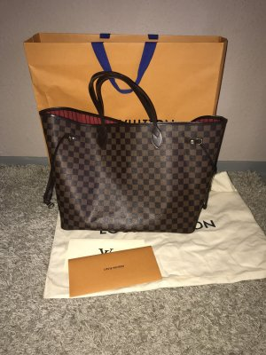 Louis vuitton neverfull hm damier