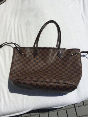Louis Vuitton Borsetta marrone scuro-marrone chiaro