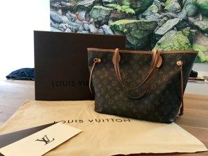 Louis Vuitton Handbag dark brown-brown