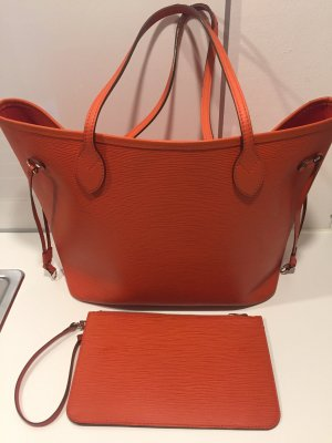 Louis Vuitton Sac Baril orange foncé