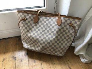 Louis Vuitton Neverfull MM Azur Shopper Tasche