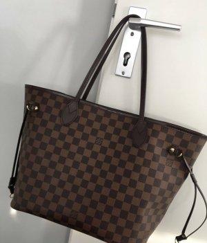 Louis Vuitton NEVERFULL MM braun rot Original