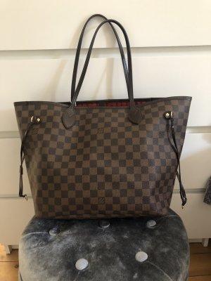 Louis Vuitton Neverfull MM Damier Ebene Canvas Top Shopper Tasche