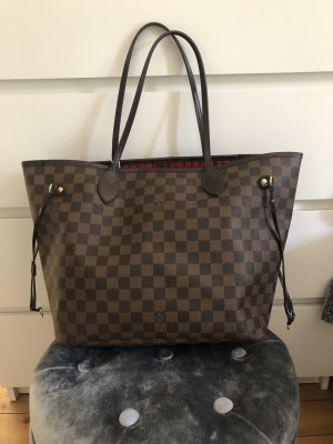 cbd42ab95eca2 Louis Vuitton Neverfull MM Damier Ebene Canvas Top Shopper Tasche