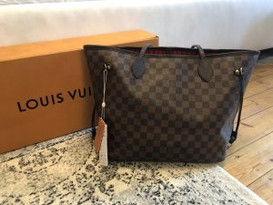 Louis Vuitton Neverfull MM Damier Ebene Shopper Tasche