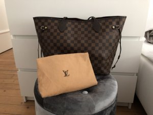 Louis Vuitton Neverfull MM Damier Ebene Tasche Shopper