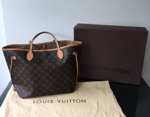 Louis Vuitton Neverfull MM Monogram Canvas Original OVP Staubbeutel