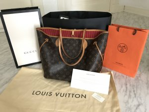 Louis Vuitton Neverfull MM Monogram Shopper Tasche Top