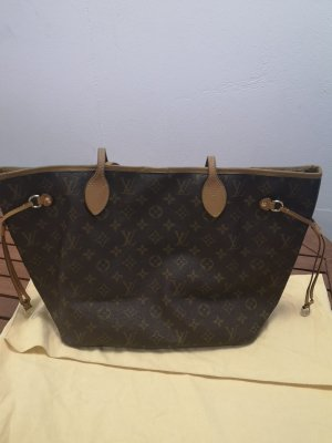 Louis Vuitton Neverfull mm Monogram Tasche Handtasche Shopper