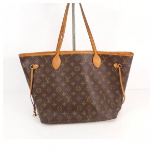 Louis Vuitton Neverfull MM Rose Ballerine Shopper Tasche