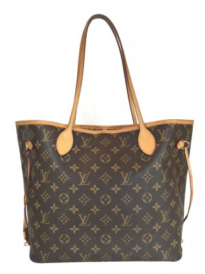 LOUIS VUITTON NEVERFULL MM SCHULTERTASCHE AUS MONOGRAM CANVAS
