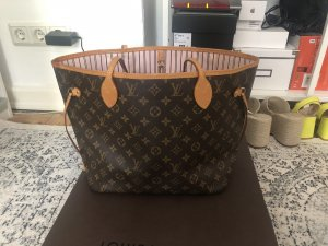 Louis Vuitton Neverfull MM Shopper Monogram Rose Ballerine