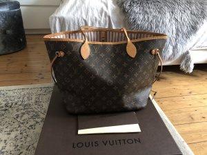 Louis Vuitton Neverfull MM Shopper Monogram Rose Ballerine