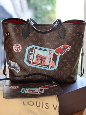 LOUIS VUITTON Neverfull MM World Tour
