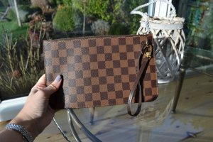 Louis Vuitton Neverfull Pochette wie neu ORIGINAL