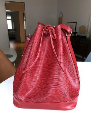 Louis Vuitton Buideltas rood Leer