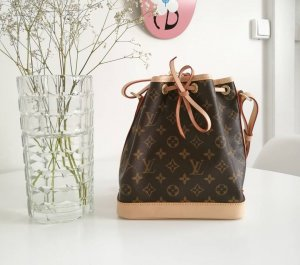 Louis Vuitton Borsellino bronzo Pelle