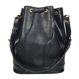 Louis Vuitton Borsetta nero-oro Pelle