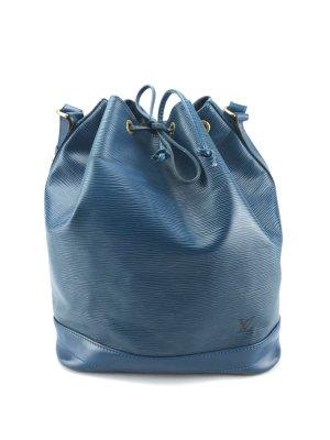 Louis Vuitton Noe Grande Epi Leder Blau