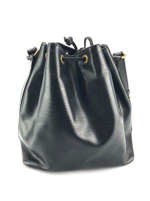 Louis Vuitton Noe Petit Epi Leder Schwarz 100% Original