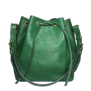 Louis Vuitton Handbag green-gold-colored leather