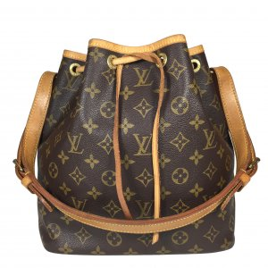 LOUIS VUITTON NOÉ PETIT MODEL SCHULTERTASCHE AUS MONOGRAM CANVAS
