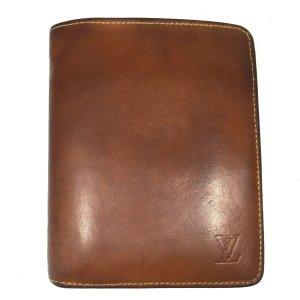 Louis Vuitton Nomade Leder Caramel Braun Geldbörse Geldtasche Kreditkartenetui