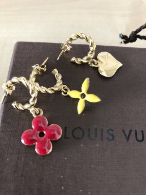 Louis Vuitton Pendientes colgante multicolor