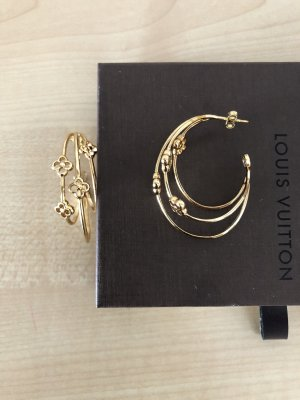 Louis Vuitton Ear Hoops gold-colored