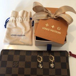 Louis Vuitton Pendant d'oreille doré