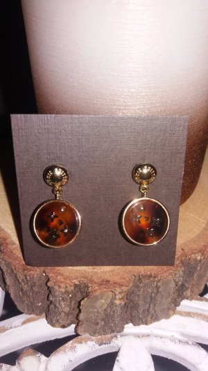 Louis Vuitton Earring gold-colored-brown