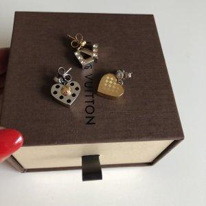 Louis Vuitton Orecchino a pendente oro-argento