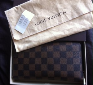 Louis Vuitton Portefeuille bronze-noir