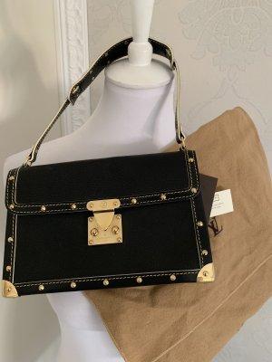 Louis Vuitton Orginal Le Talentueux Henkeltasche aus Shuali Leder in schwarz gold
