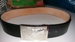 Louis Vuitton Orginal Limited Gürtel top erhalten 90 cm schwarz mit Rechnung