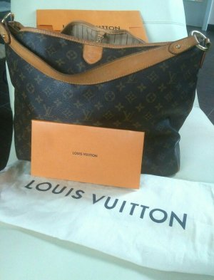 Louis Vuitton Original Delightful PM Canvas Monogam Schultertasch