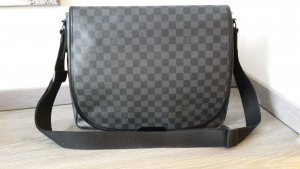 Louis Vuitton Original Messenger, Laptoptasche in damier graphit