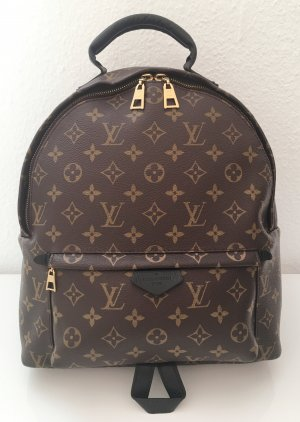 Louis Vuitton Mochila color bronce-negro