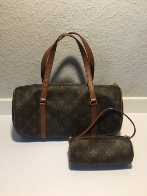 Louis Vuitton Papillon mit Pochette Monogram Canvas