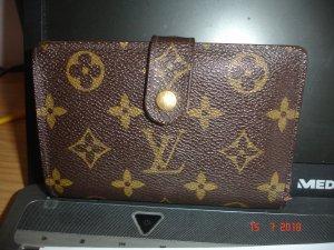 Louis Vuitton Portefeuille brun-brun foncé cuir
