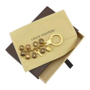 Louis Vuitton Porte-clés multicolore métal