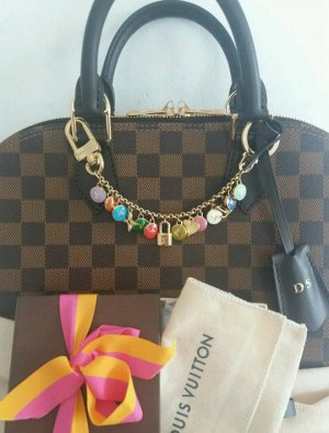 LOUIS VUITTON Pastilles Key Chain Bag Charm Multicolor, Taschenanhänger