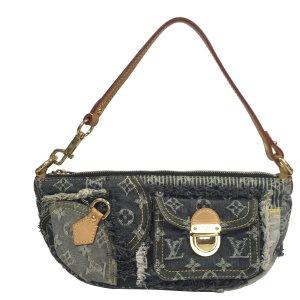 Louis Vuitton Patchwork Pouchy Monogram Denim Tasche Clutch Handtasche