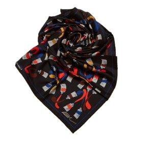 Louis Vuitton Patterned Silk Scarf