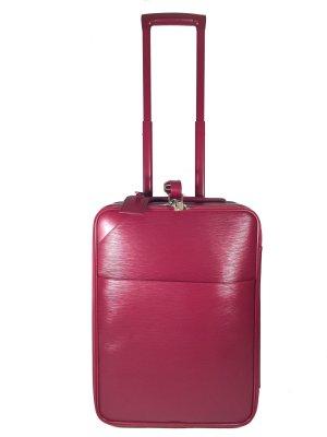 Louis Vuitton Pégase Légère Koffer Reisetasche Trolley Epi Leder Fuchsia Pink