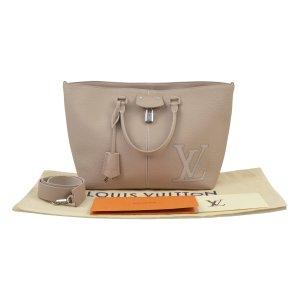 Louis Vuitton Bandolera beige claro-beige Cuero