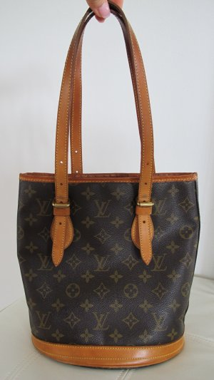 LOUIS VUITTON Petit Bucket Monogram Canvas