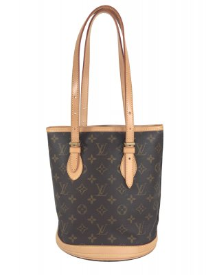 Louis Vuitton Petit Bucket PM Monogram Canvas Tasche Handtasche