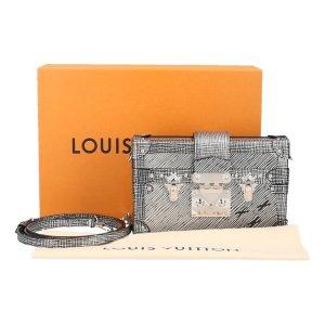 Louis Vuitton Borsa clutch argento-nero