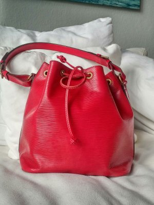 Louis Vuitton Sac seau rouge